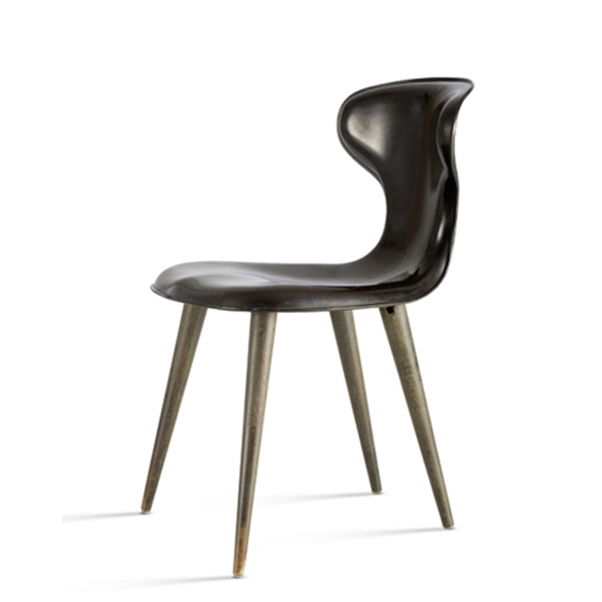 Plastic chair by Egmont Arens for General American Transportation