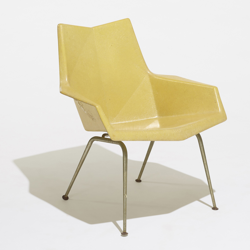 Faceted Chair Image