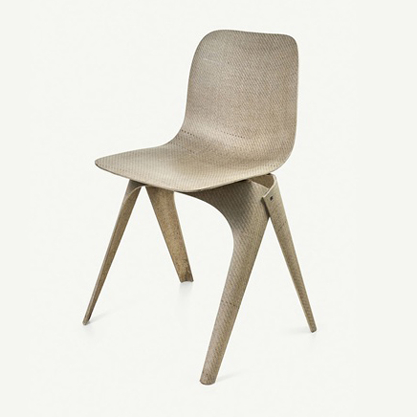 Flax chair by Christien Meindertsma for Label/Breed
