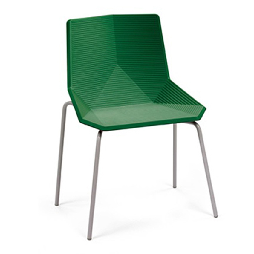 Green chair by Javier Mariscal for M114