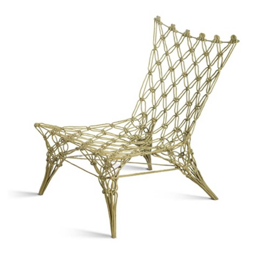 Knotted chair by Marcel Wanders for DroogDesign